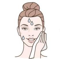 Secar la cara