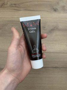 tubo titan gel