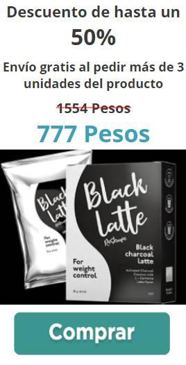 black latte banner