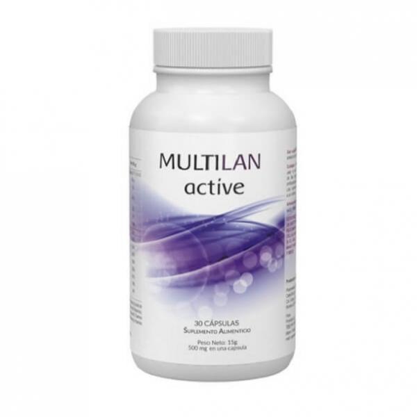 Multilan Active en Mexico:  costo, para que sirve, que contiene, comentarios y opiniones