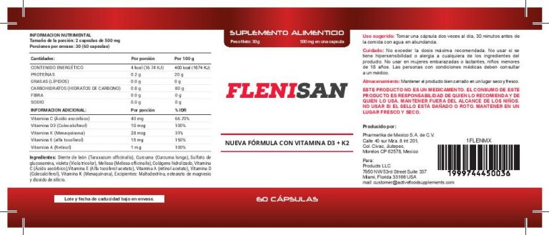 flenisan formula