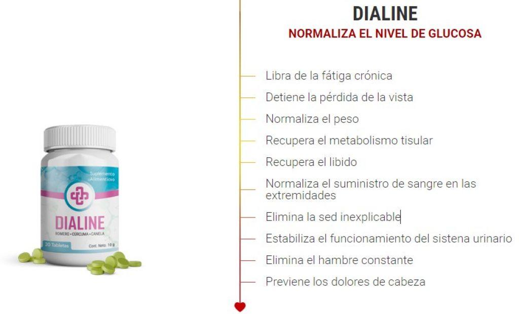 dialine pastillas para el azucar